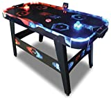 Carromco AIRHOCKEY FIRE vs Ice, schwarz, Uni