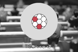 Spiele mit Tischkicker