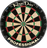 """Kings Dart Dartscheibe """"Professional"""" in offizieller Turniergröße"""