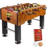 Tuniro Tischfussball Rustic V Advance Serie Hohlstangen BTFV Zertifiziert, 70 kg, 20060104