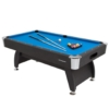 Ultrasport 8ft. Pool Billardtisch Diamond - inkl. 2 Queues, Kugelset, Dreieck & Kreide