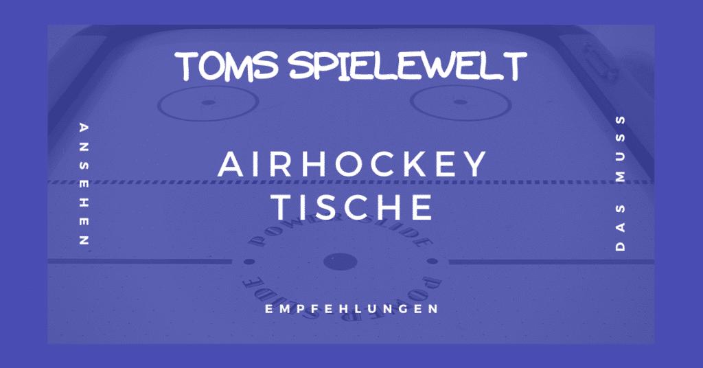 Airhockey Tische