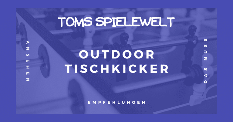 Outdoor Tischkicker